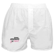 Dental Hygienists In The Fight Boxer Shorts