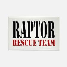 Raptor Rescue Team Rectangle Magnet