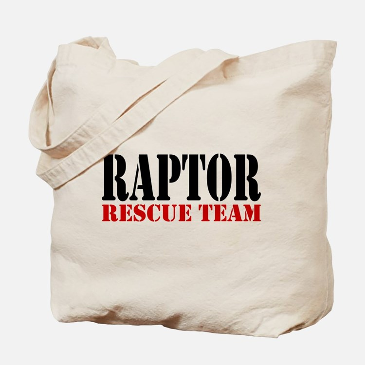 Raptor Rescue Team Tote Bag (image both sides)