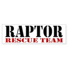 Raptor Rescue Team Bumper Bumper Sticker