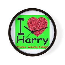 I Love Harry Wall Clock