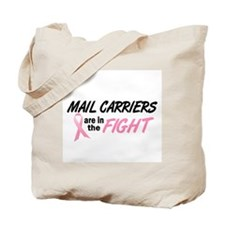 Mail Carriers In The Fight Tote Bag