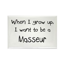 When I grow up I want to be a Masseur Rectangle Ma