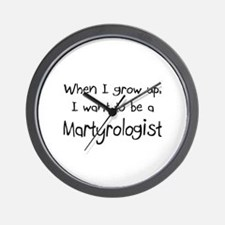 When I grow up I want to be a Martyrologist Wall C
