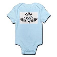Heart with Wings Infant Creeper