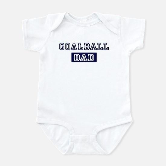 Goalball dad Infant Bodysuit