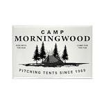 Camp Morningwood Rectangle Magnet