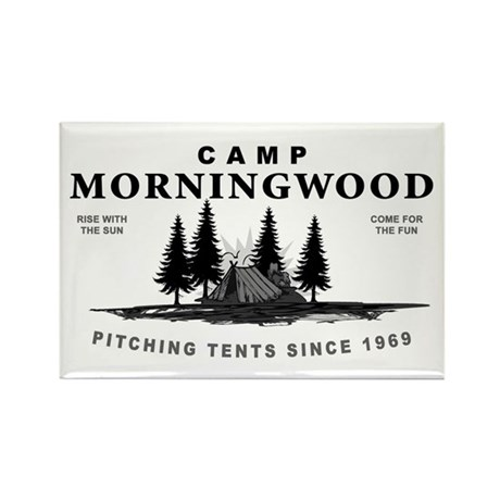 Camp Morningwood Rectangle Magnet (100 pack)