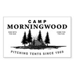 Camp Morningwood Rectangle Sticker