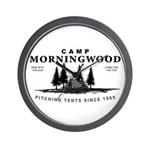 Camp Morningwood Wall Clock