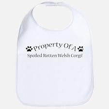 Spoiled Rotten Welsh Corgi Bib