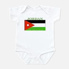Jordan Jordanian Flag Infant Creeper