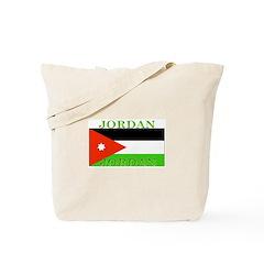 Jordan Jordanian Flag Tote Bag