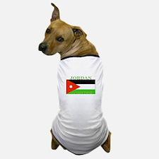 Jordan Jordanian Flag Dog T-Shirt