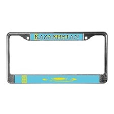 Kazakhstan Kazakhstani Flag License Plate Frame