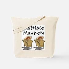 MULTIPLE MAYHEM Tote Bag