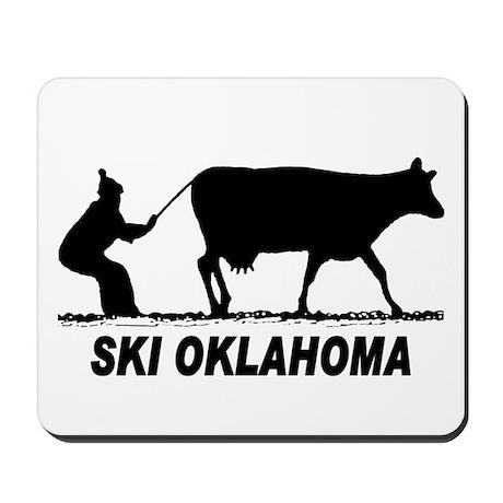 Ski Oklahoma Mousepad