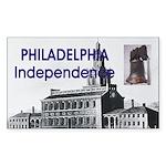 ABH Philadelphia Sticker (Rectangle 10 pk)