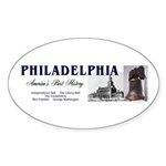 ABH Philadelphia Sticker (Oval 10 pk)