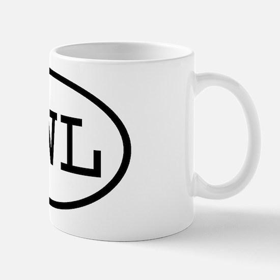 SWL Oval Mug