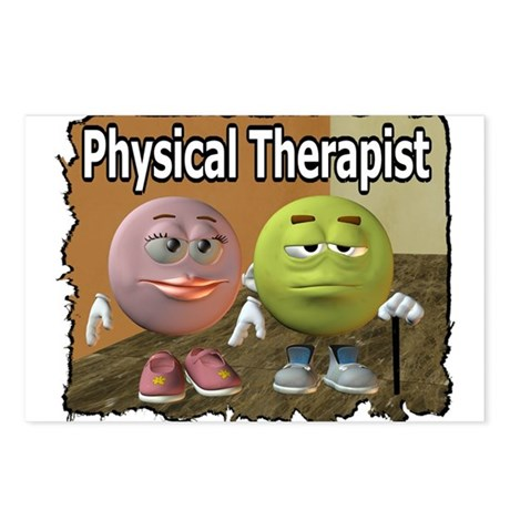 Physical Therapy Postcards (Package of 8)