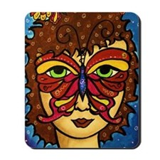 Butterfly Mask Mousepad