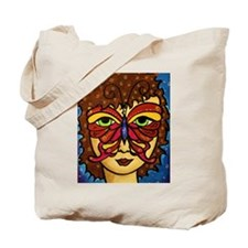 Butterfly Mask Tote Bag