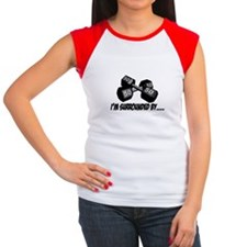 Dumbbell Humor Women's Cap Sleeve T-Shirt