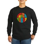 Peace Rocks Long Sleeve Dark T-Shirt