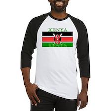 Kenya Kenyan Flag Baseball Jersey
