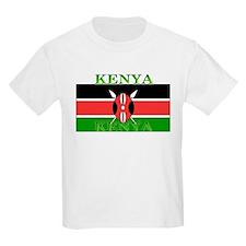 Kenya Kenyan Flag Kids T-Shirt