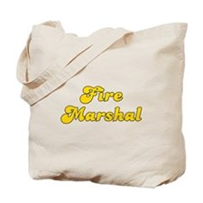 Retro Fire marshal (Gold) Tote Bag