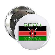 """Kenya Kenyan Flag 2.25"""" Button (10 pack)"""