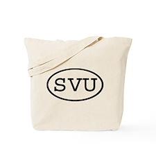 SVU Oval Tote Bag
