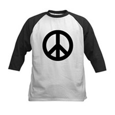 Black Peace Sign Tee