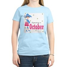 Expecting in October T-Shirt
