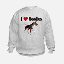 I love beagles Sweatshirt