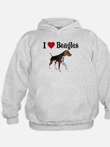 I love beagles Hoodie