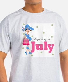 Expecting in July T-Shirt