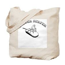 Silver Surfer Tote Bag