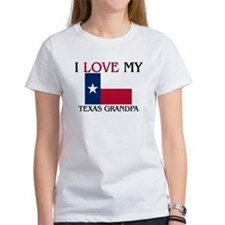 I Love My Texas Grandpa Tee