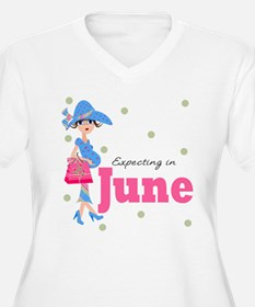 Expecting in June T-Shirt
