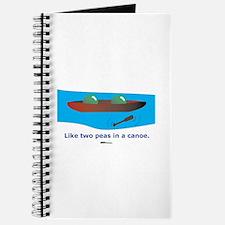 in a Canoe Journal