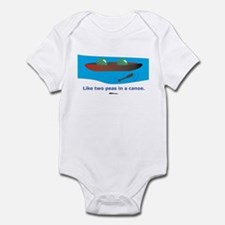 in a Canoe Infant Bodysuit