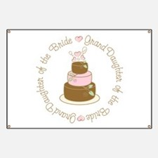 GrandDaughter of the Bride Cake Banner