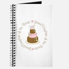 GrandDaughter of the Bride Cake Journal