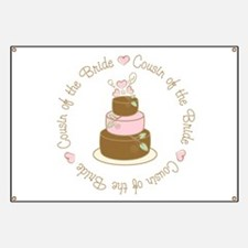 Cousin of the Bride Cake Banner
