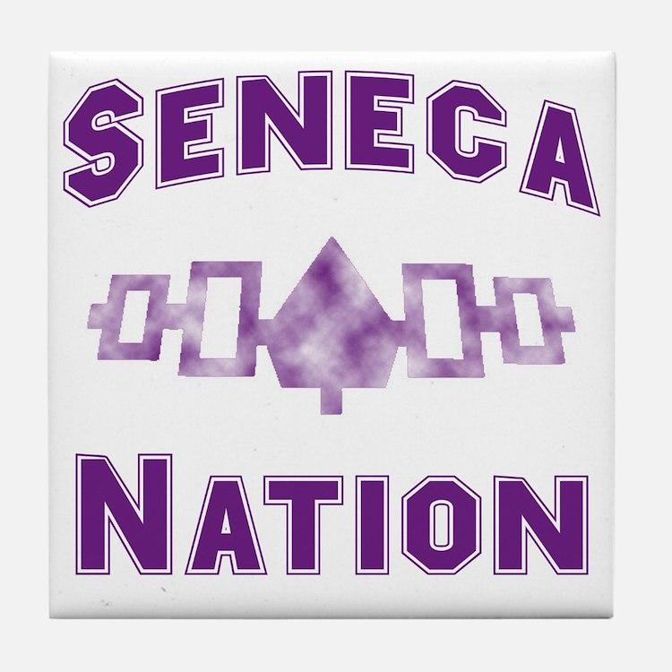 Hiawatha Seneca Nation Tile Coaster