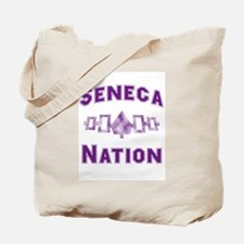 Hiawatha Seneca Nation Tote Bag