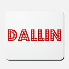 Retro Dallin (Red) Mousepad